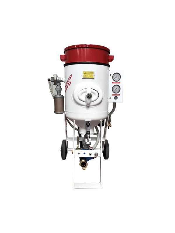 Aérogommeuse Fineblast AMN 33 et 60 litres