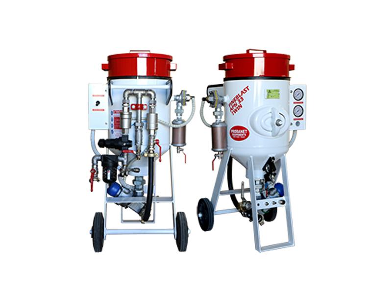 Aérogommeuses APN 33 et 60 litres