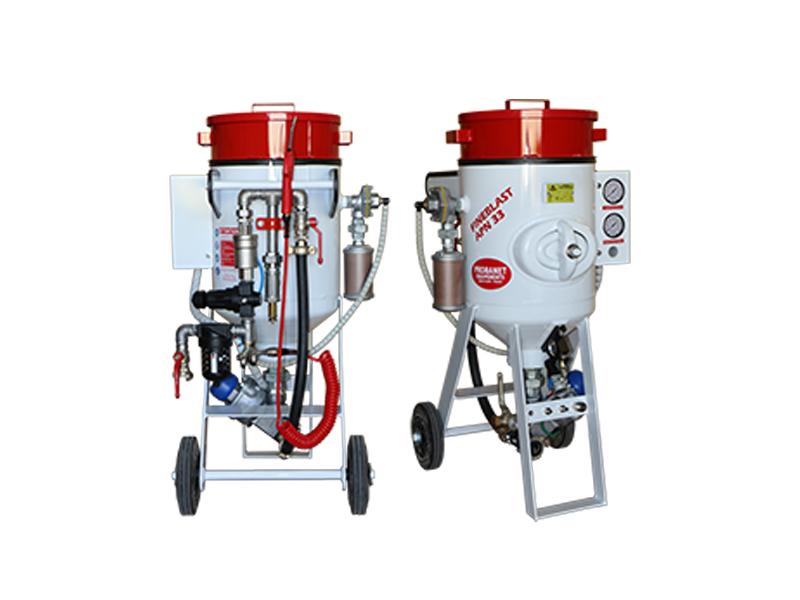 Aérogommeuse Fineblast APN 33 et 60 litres