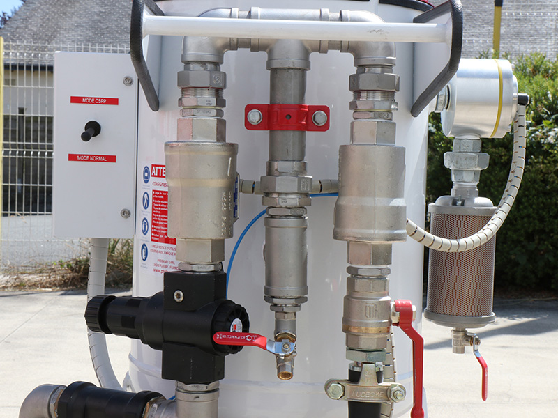 Hydrogommeuse Fineblast HPN-TWIN 33 et 60 litres