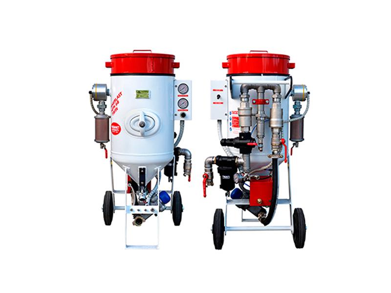 Aérogommeuse / Hydrogommeuse HPN-TWIN 33 et 60 litres
